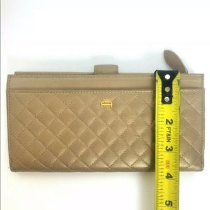 Etienne Aigner Bags - Etienne Aigner Gold Quilted Womens Wallet Clutch